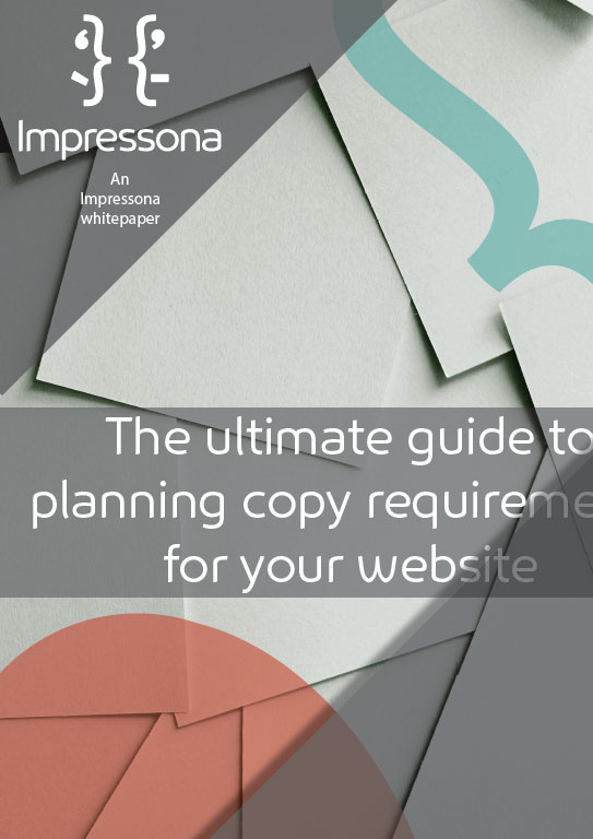Website copy and how to make a plan for your own website